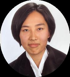 Retrato de Isabel Wang médico y practicante de medicina tradicional china y acupuntura en Valencia